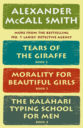 The No. 1 Ladies' Detective Agency Box Set (Books 2-4)