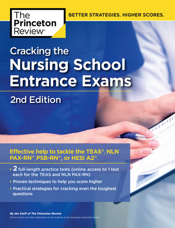 Cracking the Nursing School Entrance Exams, 2nd Edition by Princeton Review