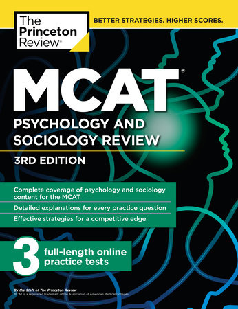 MCAT Psychology and Sociology Review, 3rd Edition by Princeton Review