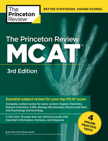 The Princeton Review MCAT, 3rd Edition