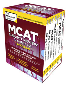 Princeton Review MCAT Subject Review Complete Box Set, 3rd Edition