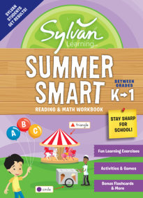 Sylvan Summer Smart Workbook: Between Grades K & 1