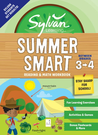 Sylvan Summer Smart Workbook: Between Grades 3 & 4 by Sylvan Learning