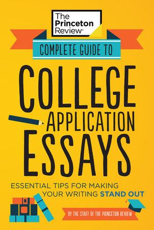 best college admission essay book