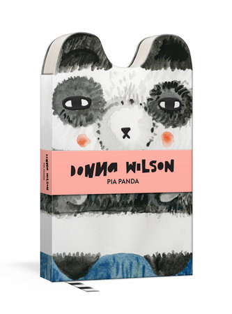 Pia Panda Critter Journal by Donna Wilson