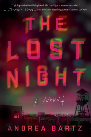 The cover of the book The Lost Night