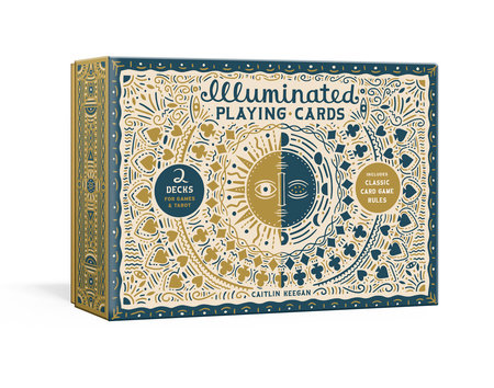 Illuminated Playing Cards by Caitlin Keegan