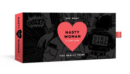 The cover of the book The Nasty Woman Game