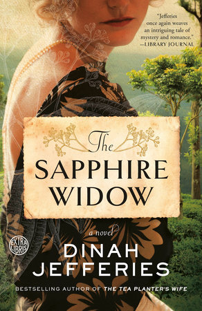 The Sapphire Widow Book Cover Picture