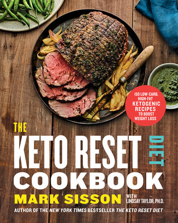 The Keto Reset Diet Cookbook by Mark Sisson