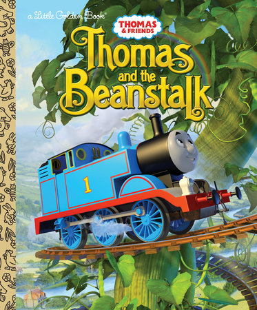 Thomas and the Beanstalk (Thomas & Friends) by Random House; illustrated by Random House