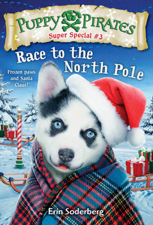 Puppy Pirates Super Special #3: Race to the North Pole by Erin Soderberg