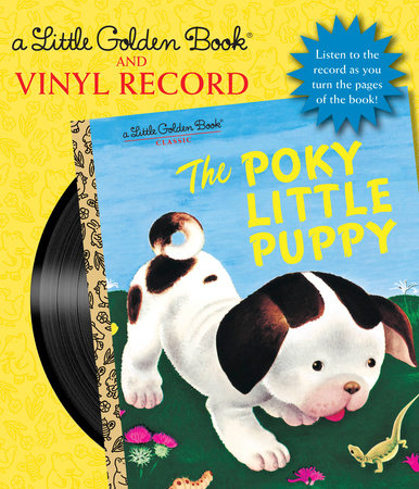 The Poky Little Puppy Book and Vinyl Record by Janette Sebring Lowrey