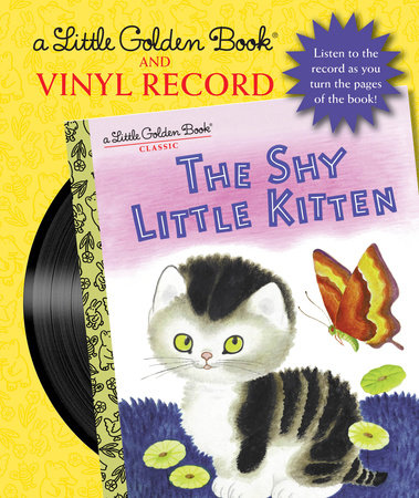 The Shy Little Kitten Book and Vinyl Record by Cathleen Schurr