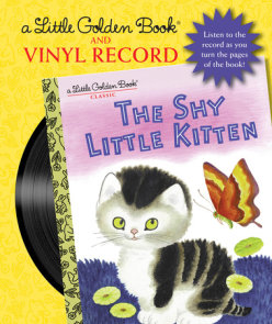 The Shy Little Kitten Book and Vinyl Record