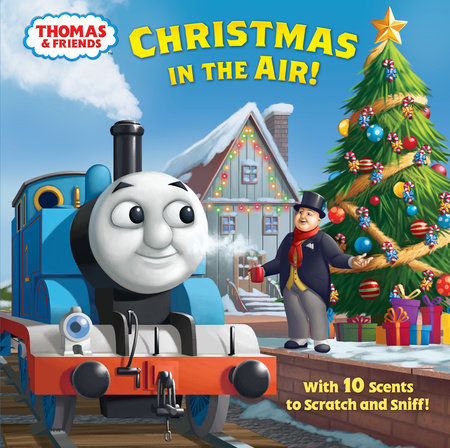 Thomas The Train Christmas Tree.Christmas In The Air Thomas Friends By Christy Webster 9780525580935 Penguinrandomhouse Com Books