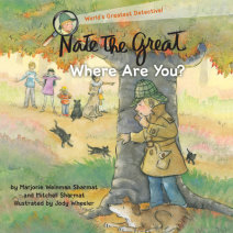 Nate the Great, Where Are You? Cover