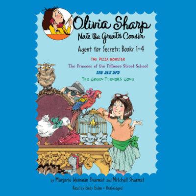 Olivia Sharp: Agent for Secrets: Books 1-4 cover