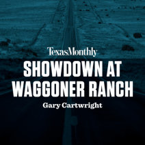 Showdown at Waggoner Ranch Cover