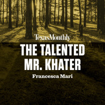 The Talented Mr. Khater Cover