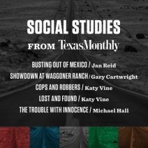 Social Studies from Texas Monthly Cover