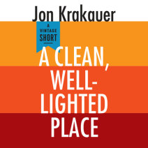 A Clean, Well-Lighted Place Cover