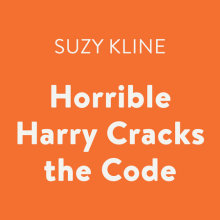 Horrible Harry Cracks the Code Cover