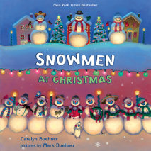 Snowmen at Christmas Cover