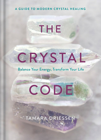 The cover of the book The Crystal Code