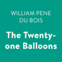 The Twenty-one Balloons Cover