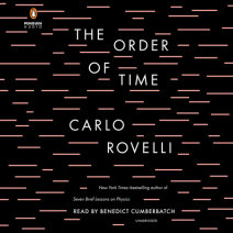 The Order of Time Cover