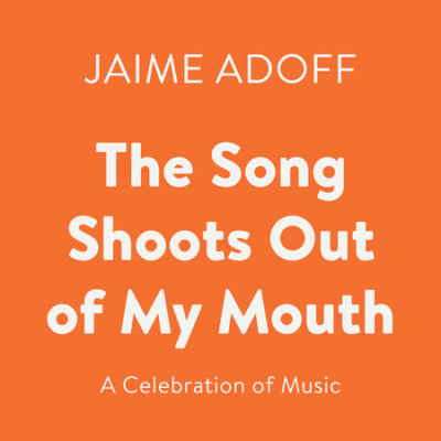 The Song Shoots Out of My Mouth cover