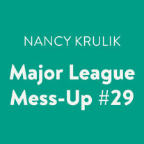 Major League Mess-Up #29 Cover