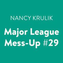 Major League Mess-Up #29 Cover
