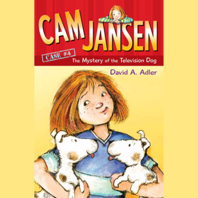 Cam Jansen: The Mystery of the Television Dog #4 cover