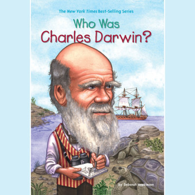 Who Was Charles Darwin? cover