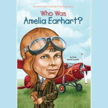 Who Was Amelia Earhart? Cover