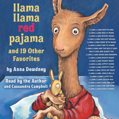 Llama Llama Red Pajama and 19 Other Favorites cover