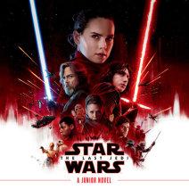 Star Wars: The Last Jedi Junior Novel Cover
