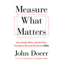 Measure What Matters Cover