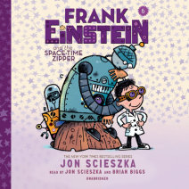 Frank Einstein and the Space-Time Zipper Cover