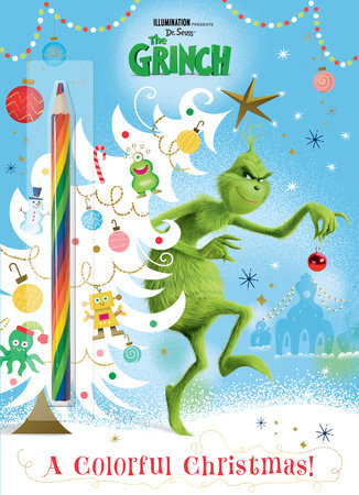 A Colorful Christmas! (Illumination's The Grinch) by Mary Man-Kong