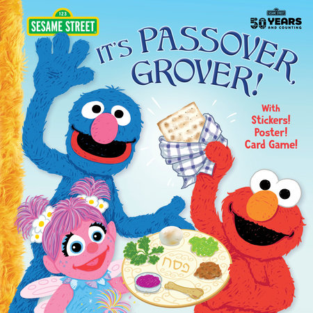 It's Passover, Grover! (Sesame Street) by Jodie Shepherd; illustrated by Joe Mathieu
