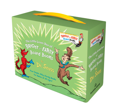 Little Green Box of Bright and Early Board Books by Dr. Seuss