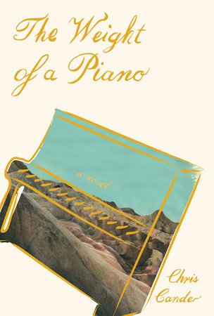 The cover of the book The Weight of a Piano