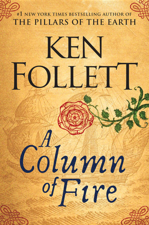 A Column of Fire Book Cover Picture