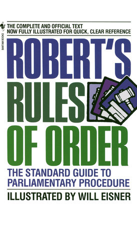 Robert's Rules of Order Book Cover Picture
