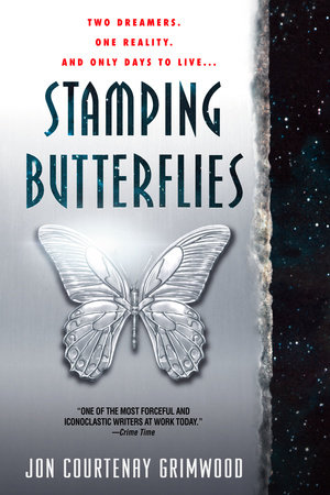 Stamping Butterflies by Jon Courtenay Grimwood