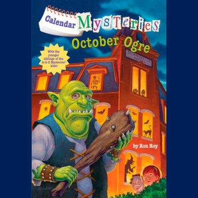 Calendar Mysteries #10: October Ogre cover