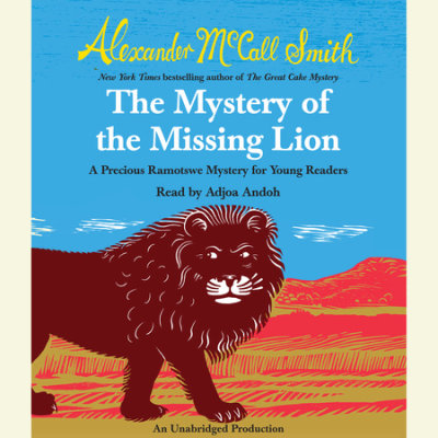 The Mystery of the Missing Lion cover